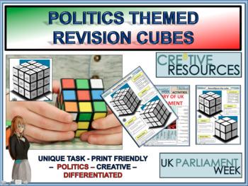 UK Revision Politics Cube