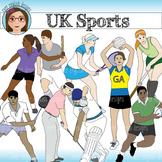 UK Sports Clip Art