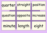 UK Statutory Spelling Words Year 3 and 4 - Term 1 pack