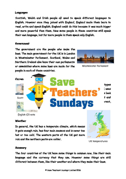 UK / United Kingdom Unit (10 lessons)