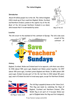 UK / United Kingdom Unit (10 lessons)
