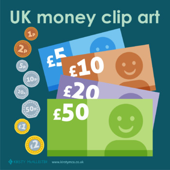 UK money clip art