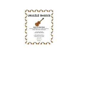 "UKULELE BASICS Lesson 10 (""Waco Kid ^ Aloha 'Oe w/chord sheets and lead sheets)"