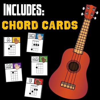 UKULELE - GAME/ CHORD CARDS