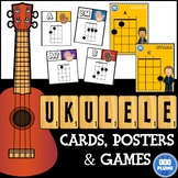 UKULELE - GAME/ CHORD CARDS