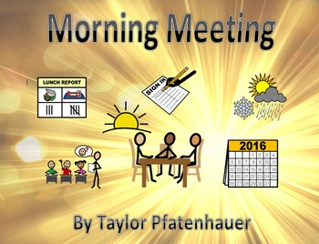 ULS Morning Meeting Binder