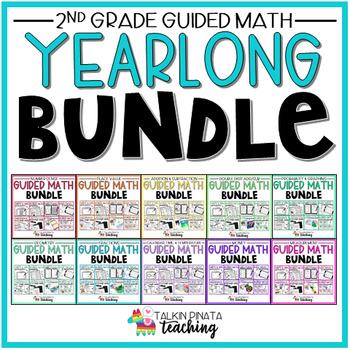 ULTIMATE 2nd Grade Guided Math Bundle