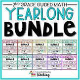 BUNDLE Yearlong Second Grade Guided Math Units