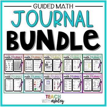 ULTIMATE 2nd Grade Math Journal Bundle