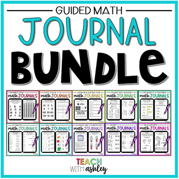 ULTIMATE 2nd Grade Math Journal Bundle