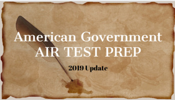 AMERICAN GOVERNMENT STATE TEST PREP ULTIMATE BUNDLE!! - 2 Awesome Products!