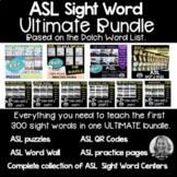 ASL Sight Word ULTIMATE BUNDLE