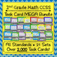 Elementary Math Task Cards Bundle: ALL Common Core Standards, K-6 Task Cards
