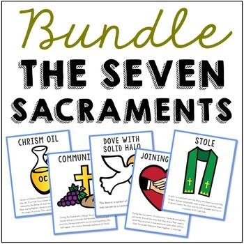 Catholic MEGA BUNDLE - Projects, Posters, and Easy Crafts
