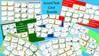 ULTIMATE Class Scoot Activity/Task Card Bundle - SAVE over $20