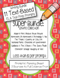 ULTIMATE ELA Test-Prep Bundle (11 FSA Writing Prompts and Sources)