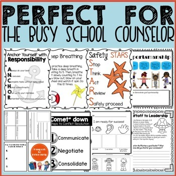 ULTIMATE Elementary School Counseling Classroom Guidance Lesson Bundle!