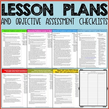 ULTIMATE Elementary School Counseling Classroom Guidance Lesson Curriculum