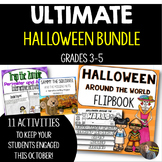 ULTIMATE Halloween/October Math and ELA Bundle for Grades 3-5