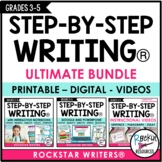 INTERACTIVE STEP-BY-STEP WRITING® PROGRAM BUNDLE | DISTANC
