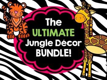 ULTIMATE Jungle Decor Bundle