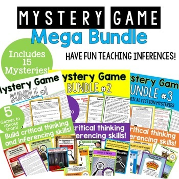 ULTIMATE MEGA Mystery Bundle - Great for Ice Breakers and Iinferencing