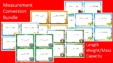 ULTIMATE Measurement Conversion Scoot Activities/Task Card Bundle