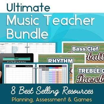 ULTIMATE Music Teacher Back to School Bundle