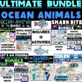 ULTIMATE OCEAN ANIMAL BUNDLE, DIGITAL BOOM CARDS & SMASH MATS