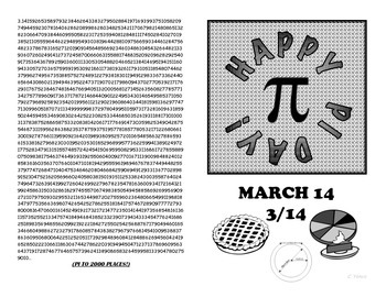 ULTIMATE Pi Day Greeting Card with QR-CODE - Celebrate with updated TWO-PACK