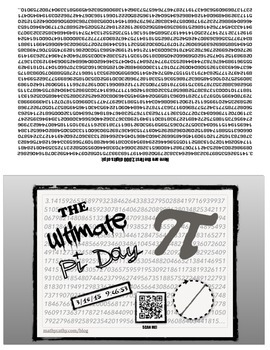 ULTIMATE Pi Day Greeting Card with QR-CODE - Celebrate wit