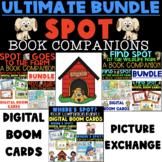 ULTIMATE SPOT BOOK COMPANION BUNDLE, BOOM CARDS, PICTURE EXCHANGE