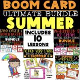 ULTIMATE SUMMER BOOM CARD BUNDLE (ARTICULATION & LANGUAGE)