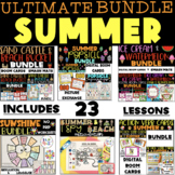 ULTIMATE SUMMER BUNDLE, BOOM CARDS & SMASH MATS (SPEECH THERAPY)