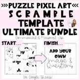 ULTIMATE Scramble Puzzle Pixel Art BUNDLE for Commercial a