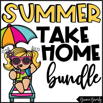 Summer Take Home Packet   Reading, Writing & Math Packet