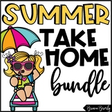 Summer Take Home Packet | Reading, Writing & Math Summer Activities