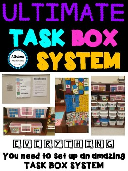 ULTIMATE TASK BOX SYSTEM- SPED/AUTISM