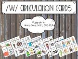 ULTIMATE /w/ Articulation Card Set