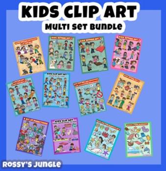 ULTRABUNDLE Kids clip art set
