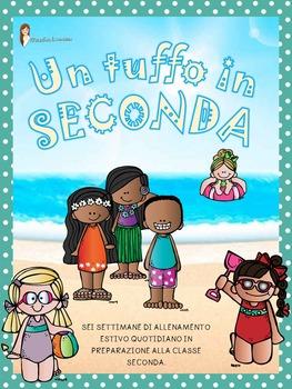 UN TUFFO IN SECONDA - libro delle vacanze per la prima