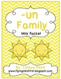 UN word family mini pack