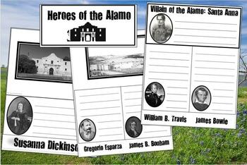 UNBUNDLED: Heroes of the Alamo Flip Book