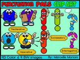 PUNCTUATION PALS CARTOON CLIP ART GRAPHICS (102 IMAGES) Commercial Use