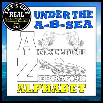UNDER THE A-B-SEA Alphabet Headings