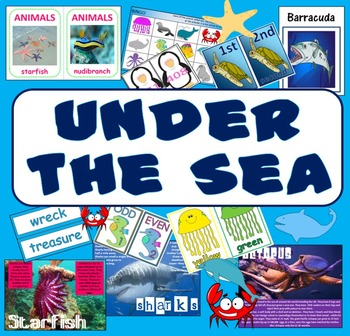 UNDER THE SEA / SEA LIFE -ANIMALS SCIENCE ROLE PLAY