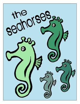 UNDER THE SEA *TABLE LABELS*