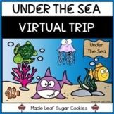 UNDER THE SEA VIRTUAL TRIP!!! Ocean Study, Life Cycle, Adaptations FISH FUN!!!