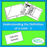 Calculus - UNDERSTANDING THE DEFINITION OF A LIMIT-1