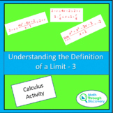 Calculus - UNDERSTANDING THE DEFINITION OF A LIMIT-3